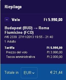 da budapest a roma27nov
