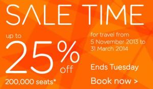 easy jet sale time